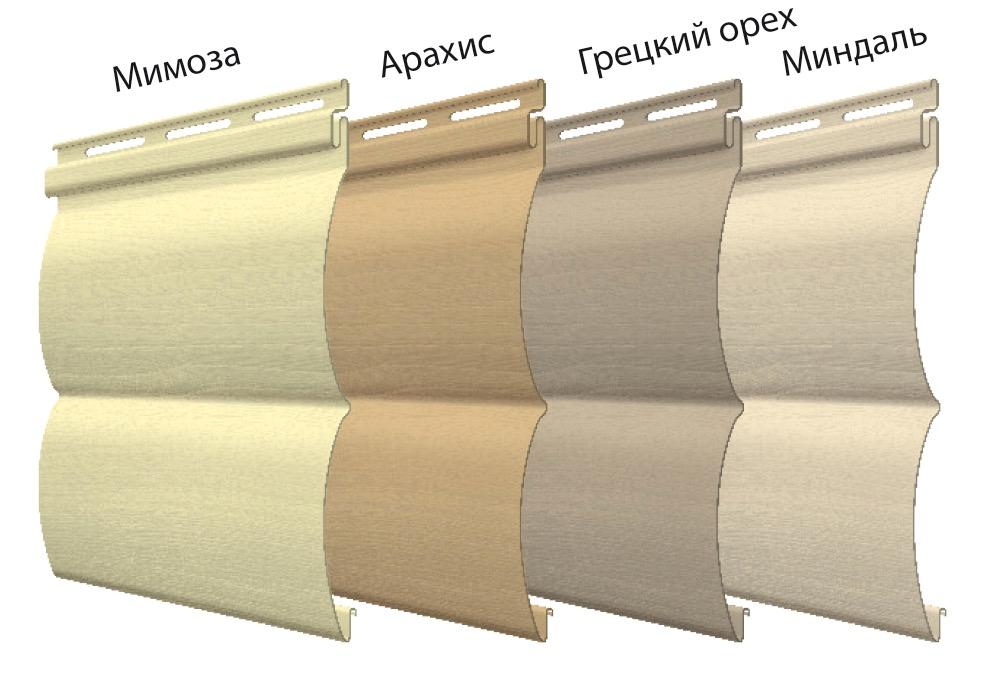 блок-хаус цвета